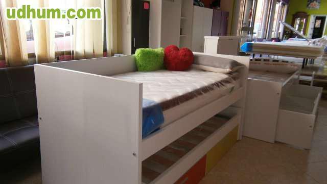 Oferta de cama compacta divan en 229 2 for Cama compacta oferta