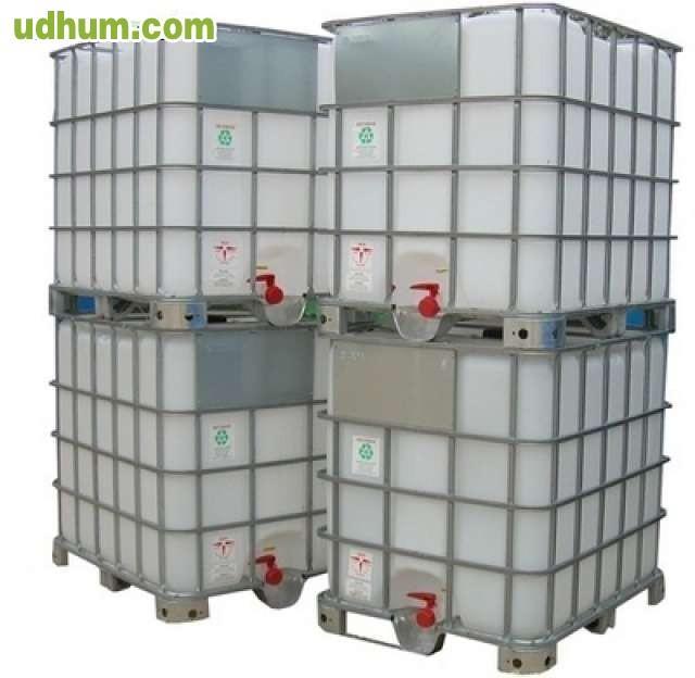 Depositos bidones cubas de 1000 litros for Bidones de agua de 1000 litros