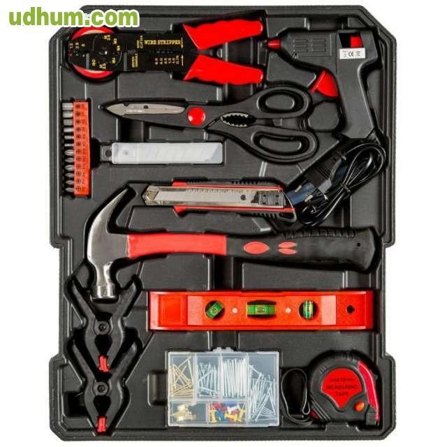 Malet n con herramientas 266pc piezas - Maletin herramientas con ruedas ...