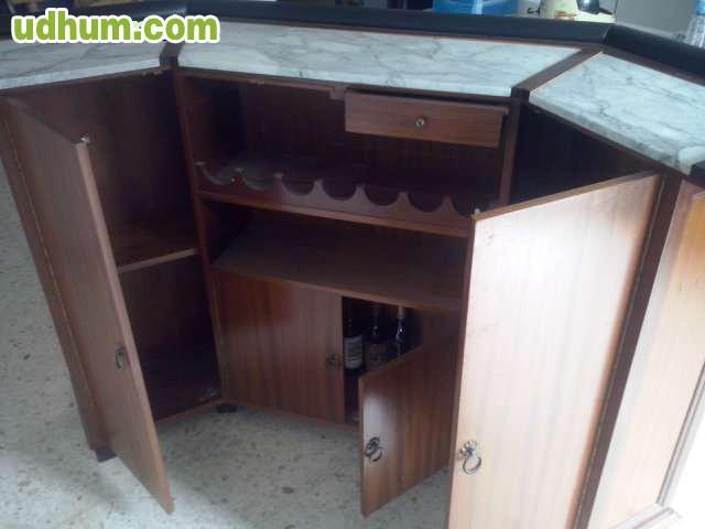 Barra de minibar madera tallada - Barras de minibar ...