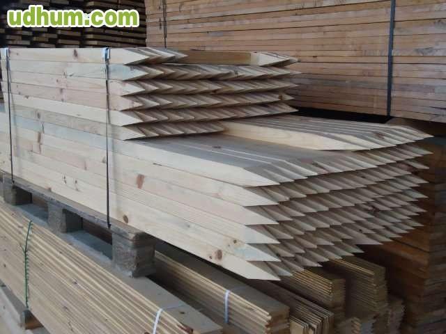 Estacas de madera de pino - Estacas de madera para cierres ...