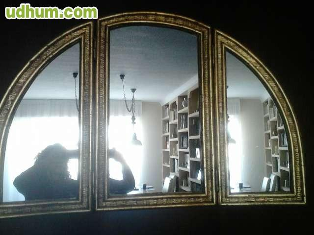 Espejo tres hojas - Espejo tipo camerino ...