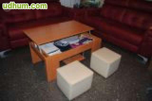 Mueble comedor completo con mesas y sill for Oferta comedor completo