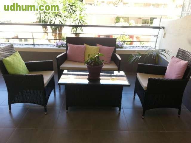 Conjunto terraza y mesas for Conjunto terraza