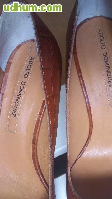 zapatos tac n piel adolfo dominguez