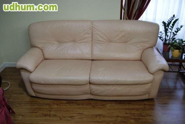 Sofa de tres plazas en piel - Sofa para tres ...