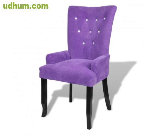 Sillon silla de comedor madera negra rec 1 for Silla sillon comedor