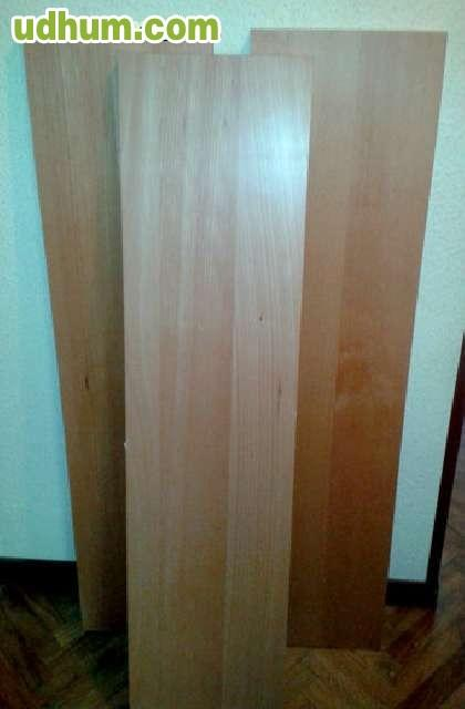 Balda de madera chapada - Balda de madera ...
