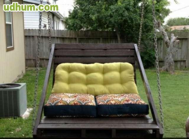 Muebles de cocina y decoracion de palets for Mobiliario para el jardin
