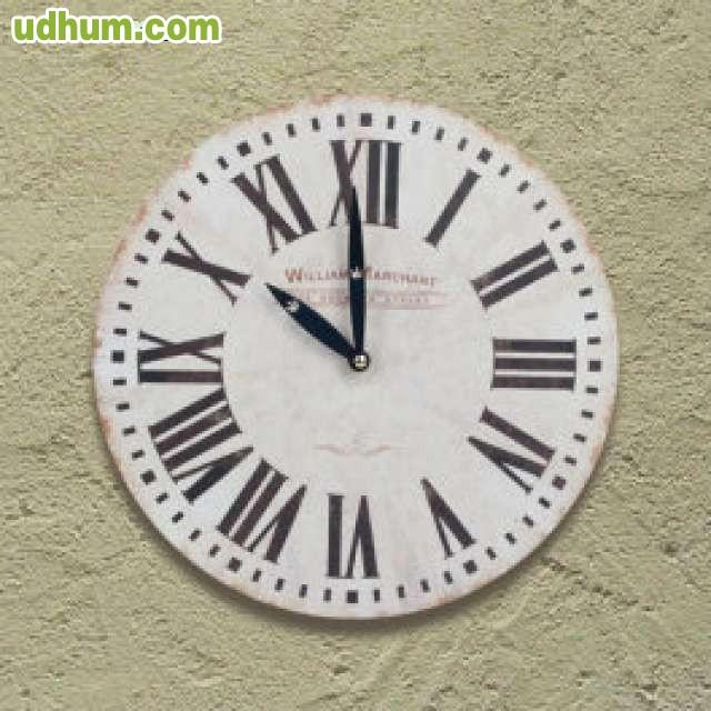 Reloj de pared vintage 1 for Reloj de pared vintage 60cm