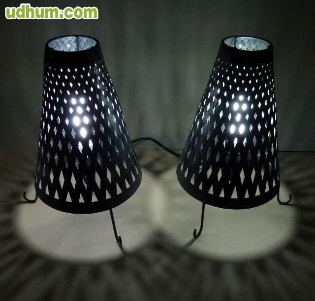 2 lamparas para mesilla 1 - Lamparas de mesilla ...