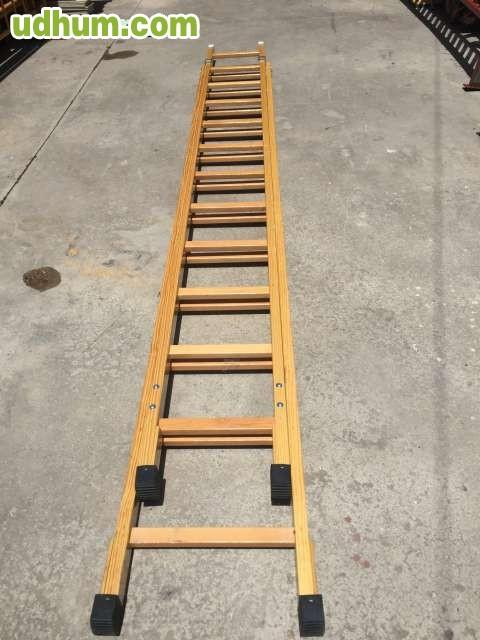 Escaleras de madera de pintor o decorar for Escaleras de madera para decorar
