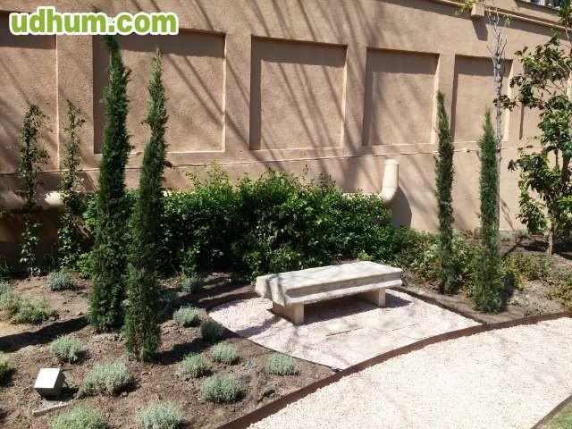 Dise o jardines paisajista en madrid - Diseno jardines madrid ...