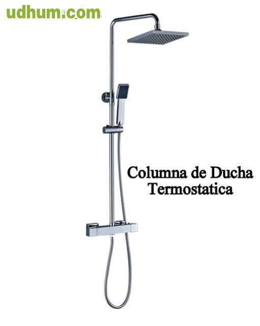 Columna de ducha termostatica 3 for Columna termostatica