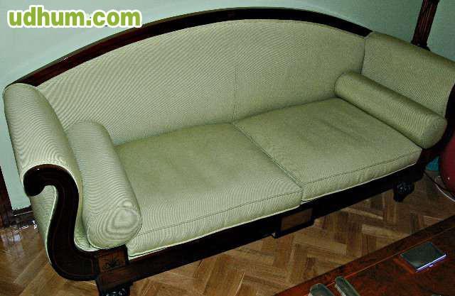 Sofa estilo imperio verde pistacho - Sofas en alcobendas ...