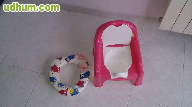 Asiento orinal y reductor for Tapaderas de wc