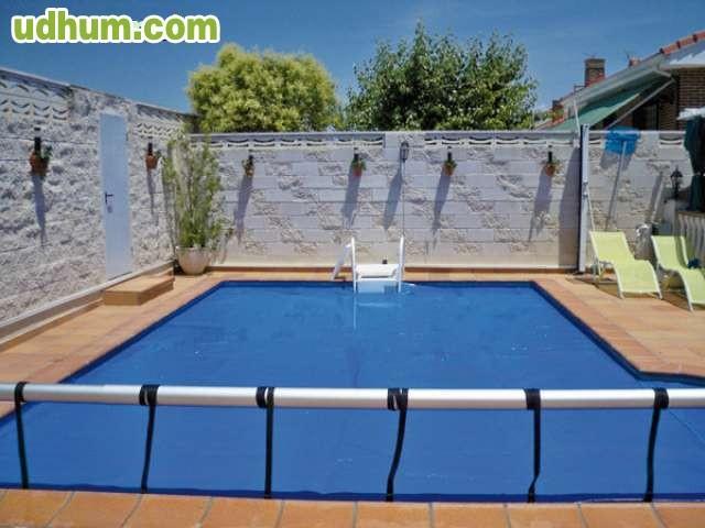 Cobertor burbujas termico piscinas for Burbuja piscina