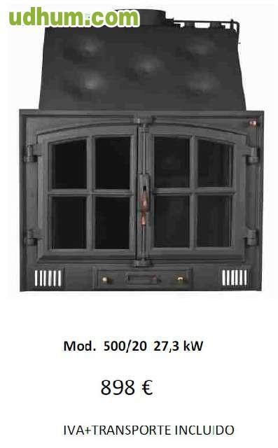 Hogares de le a de calefaccion for Calefaccion lena radiadores