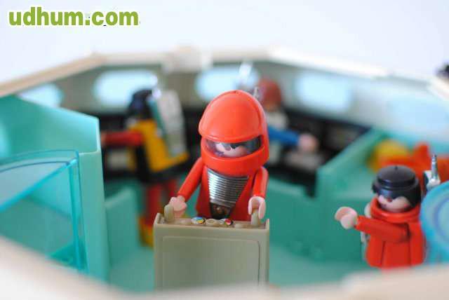 Playmobil space primera nave espacial for Nave espacial playmobil