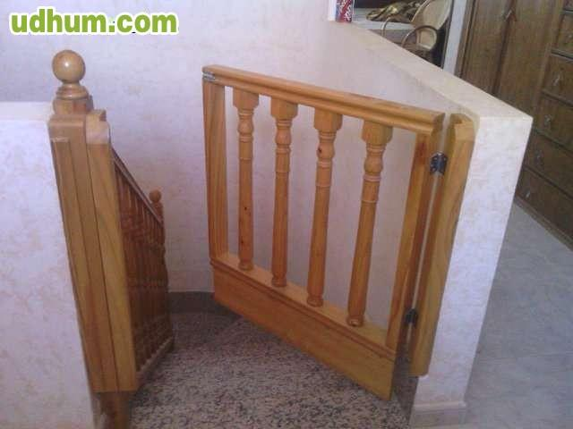 Cancela protector para escalera - Cancela seguridad ninos ...