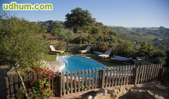 Casa rural con piscina y barbacoa 2 for Casa rural sevilla piscina