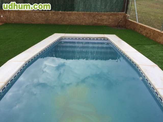 Piscina de obra y gunitada for Precio piscina obra 8x4