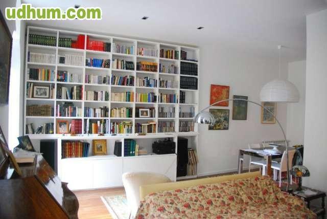 Muebles y librerias pladur for Librerias para salon