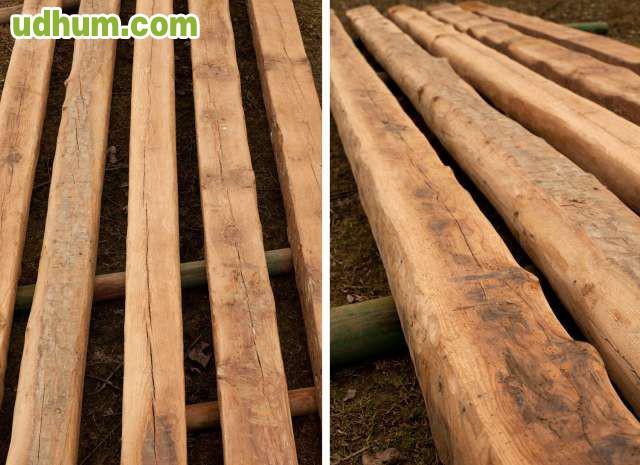 Vigas antiguas de madera 2 - Vigas de roble antiguas ...