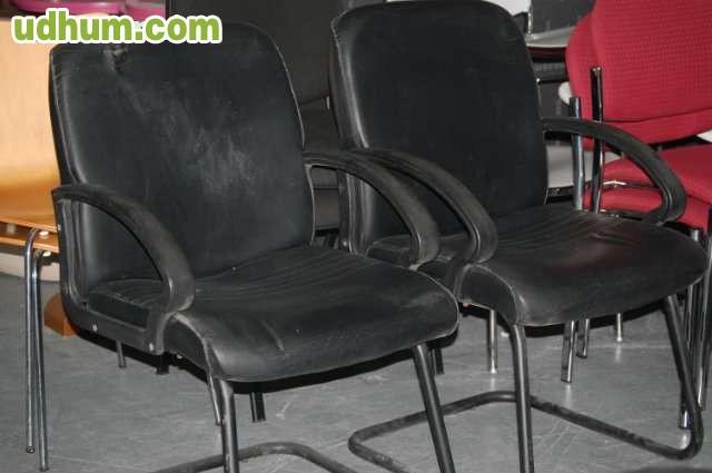 Oferta sillas confidente baratas negras for Sillas negras baratas