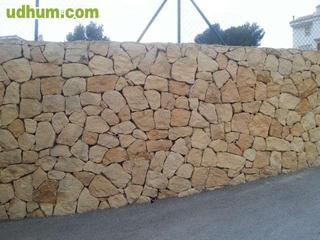 Muros de contencion de piedra natural - Muros de contencion de piedra ...