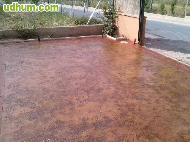 Pavimento continuo impreso - Pavimento hormigon pulido ...