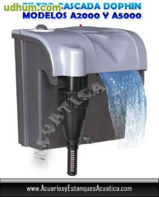 Filtro cascada barato 400l h autocebado for Acuarios baratos