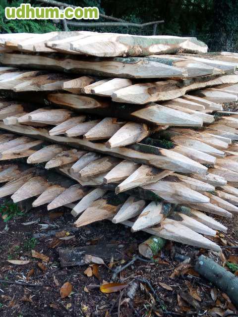 Estacas de casta o para cierres - Estacas de madera para cierres ...