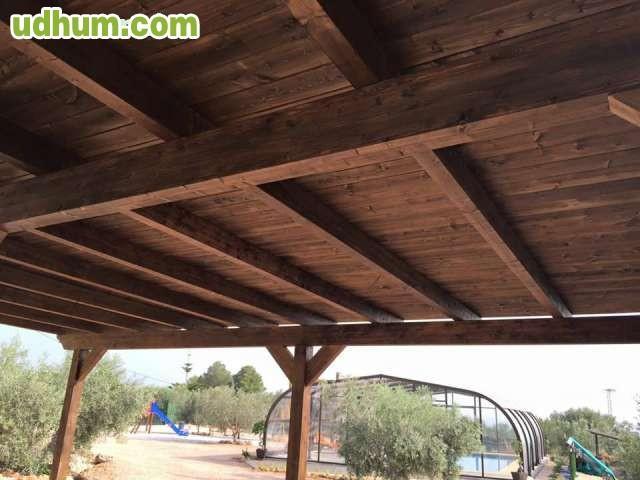 Porches y pergolas en madera laminada - Pergolas y porches ...