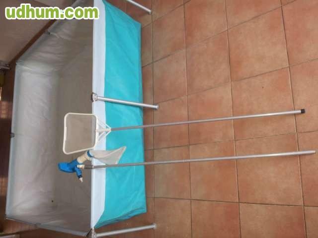 Piscina desmontable iaso for Lona interior piscina desmontable