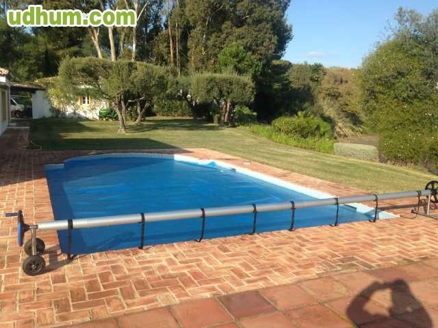 Manta solar flotante piscina for Manta solar piscina