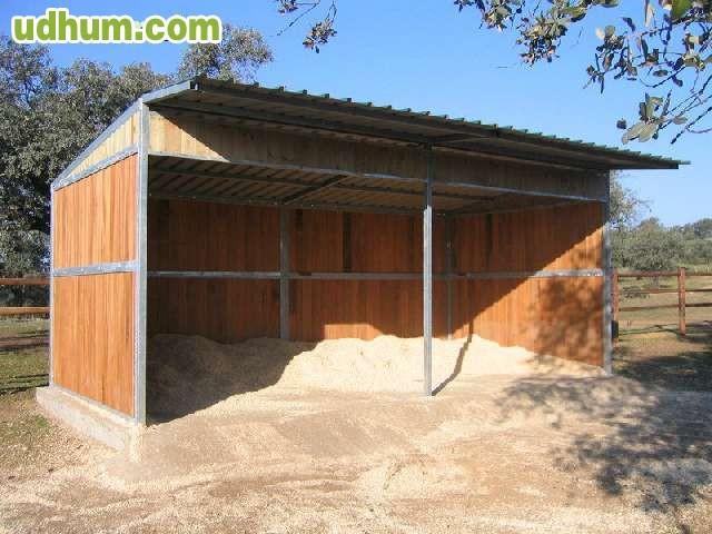 boxes y cobertizos para caballos