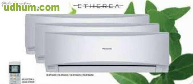Venta y montaje panasonic 660 for Aire acondicionado panasonic precios