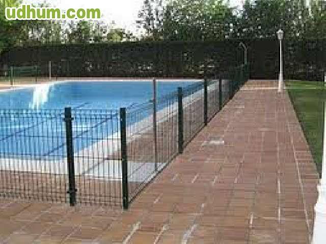 Mallas metalicas cierres perimetrales - Vallas metalicas jardin ...