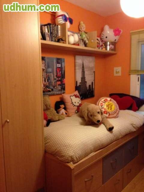 Habitaci n infantil juvenil completa for Habitacion juvenil completa