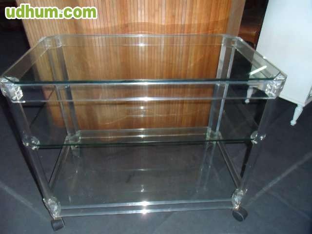 Mesa camarera 1 for Mesa cristal milanuncios