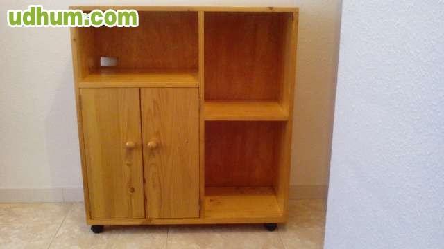 Mueble pino macizo color miel for Muebles de pino color miel