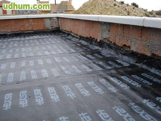 Telas asfalticas e impermeabilizaciones - Impermeabilizantes para terrazas ...