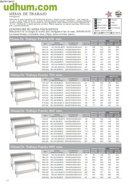 Muebles en acero al mejor precio for Usado cantabria muebles