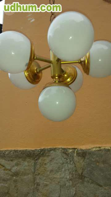 Juego de apliques y lampara de techo - Apliques y lamparas ...
