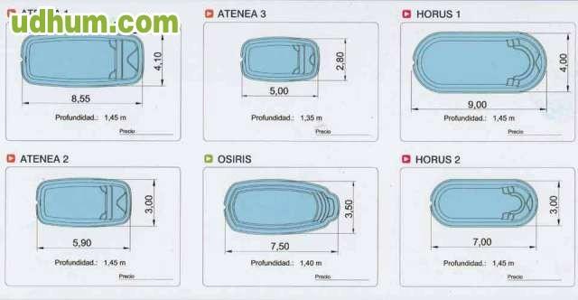 Piscinas de fibra baratas - Piscinas de fibra precios ...