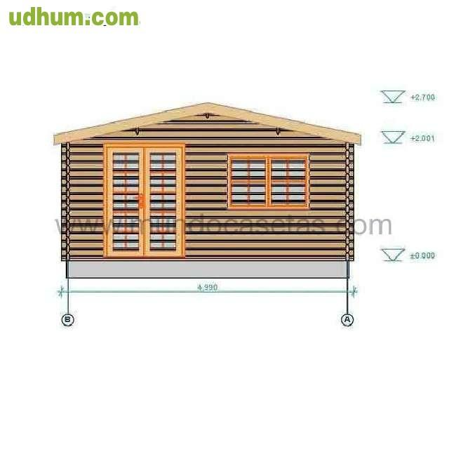 Oferta casa madera 5x5 rebajas for Rebajas mobiliario jardin