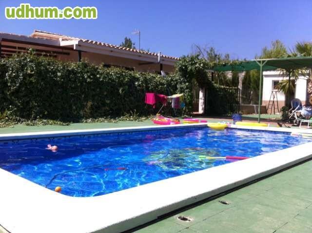Ocasion chalet campo con piscina for Piscinas desmontables ocasion