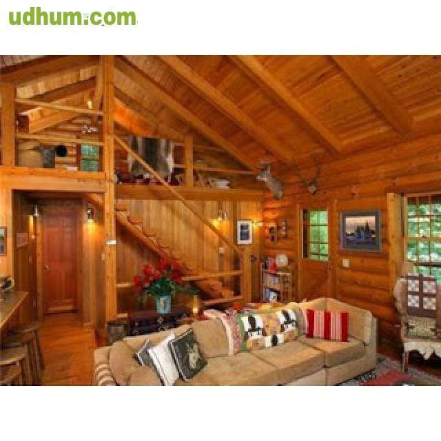 Interiores de madera for Tejados interiores de madera