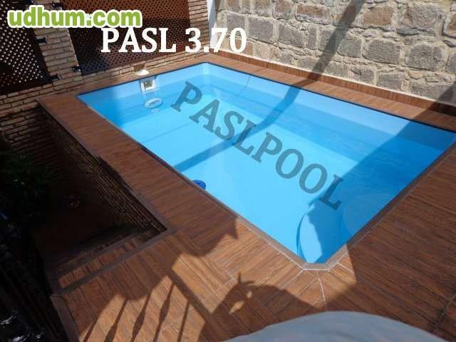 Paslpool piscinas de poliester 30 for Fabricantes piscinas poliester